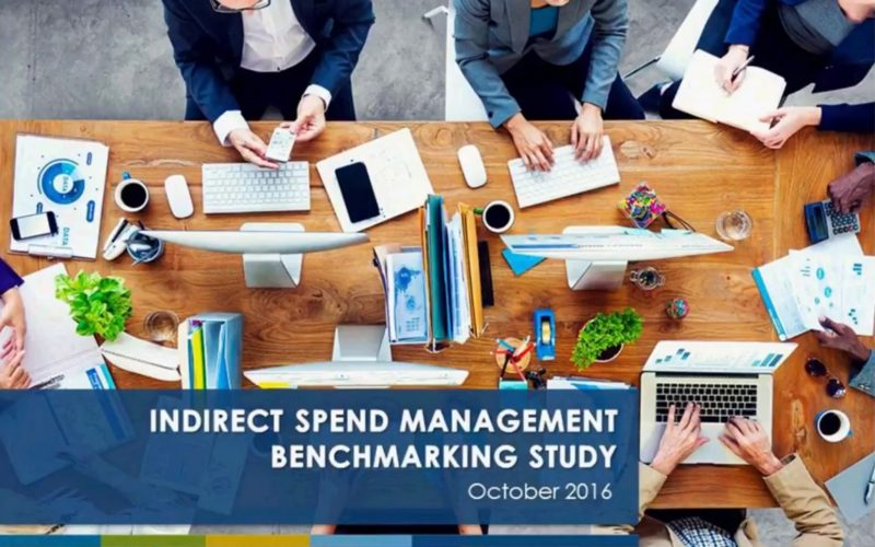 Indirect Spend Management Benchmarking Study Results 2016